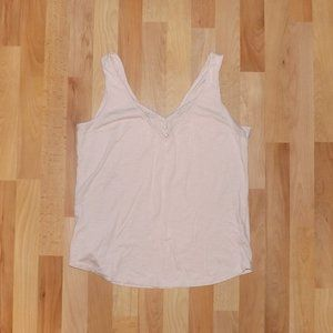 Maurices 24/7 deep v neck tank top
